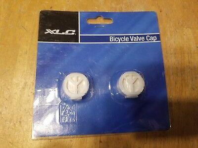 Ano Blue Aluminum Bicycle Schrader Valve Cap Set Bike Tube Caps