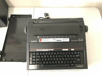 Brother Ax-24 Electric Typewriter