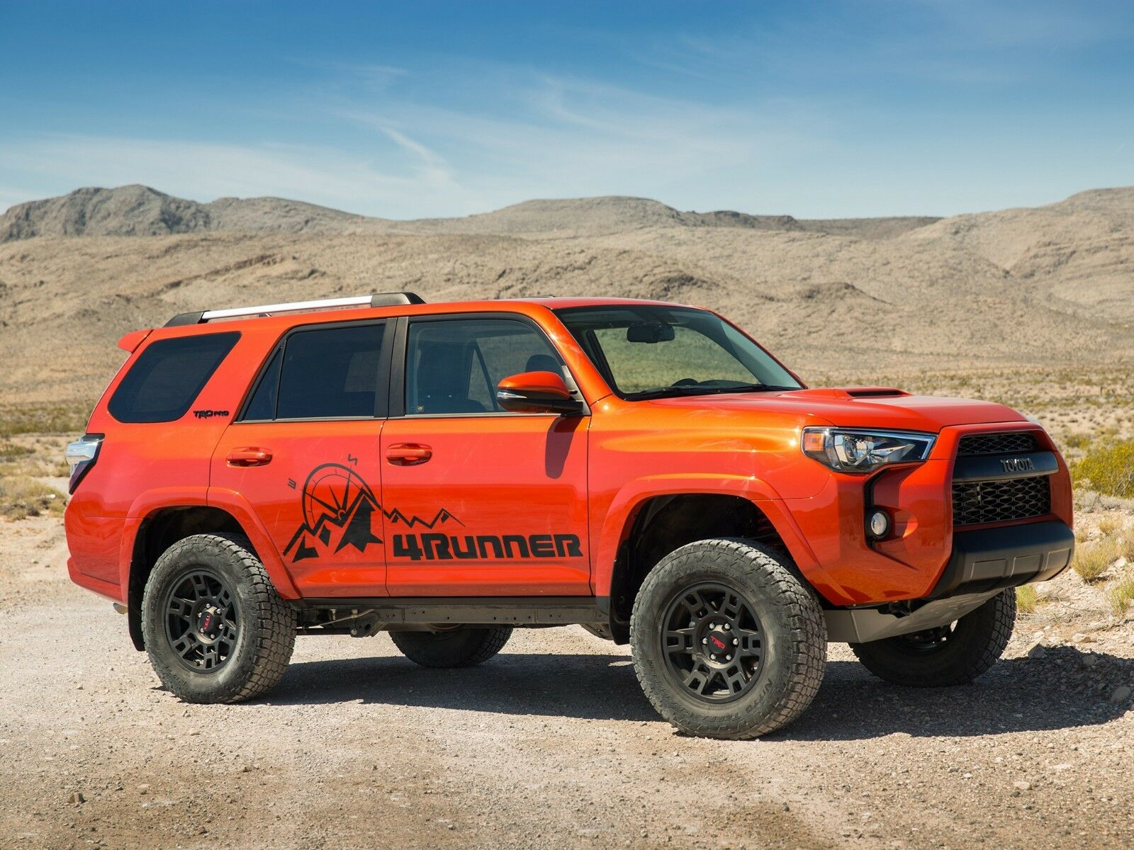 Size Design Fixed That Fits Only Toyota 4runner