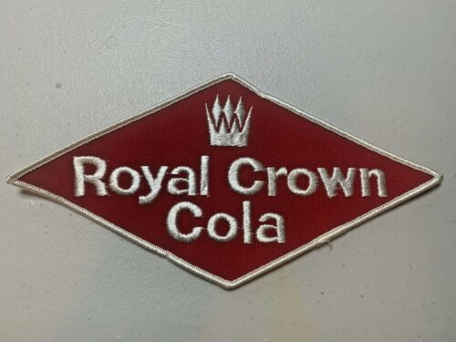 Vintage Embroidered RC  Royal Crown Cola Patch NOS (1940