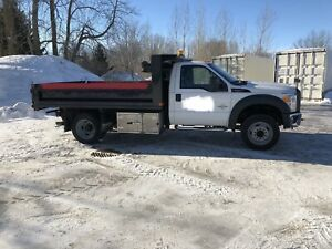 2012 ford f550 dompeur