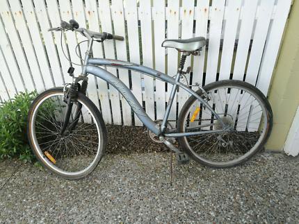 Adult Huffy Push Bike Grey Silver