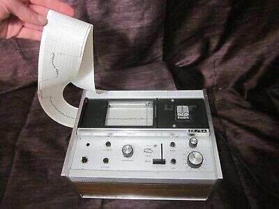 Vintage Burdick Ek5a Electrocardiograph Ecg Ekg Machine - With Power Cord