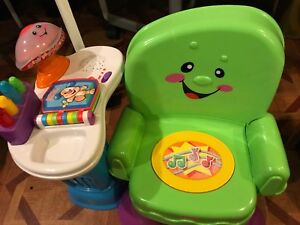 Banc interactif fisher price