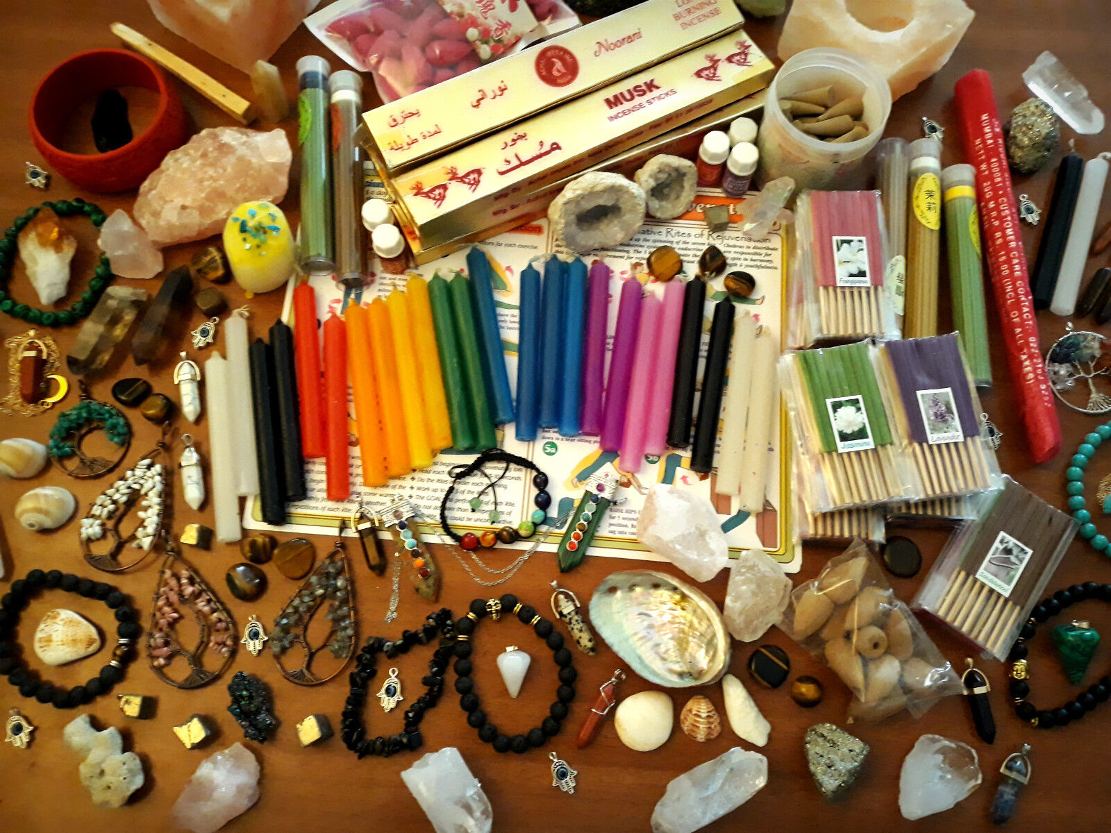 [LOT OF 7 - 9] Surprise Witchery Kit: Box Assorted Goods for Witchcraft | Wicca