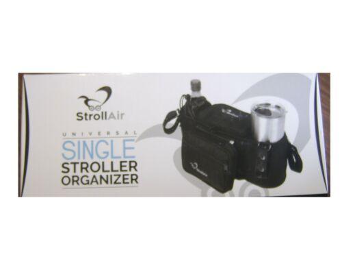 STROLLAIR SINGLE STROLLER ORGANIZER/CONSOLE - BLACK :B20-4