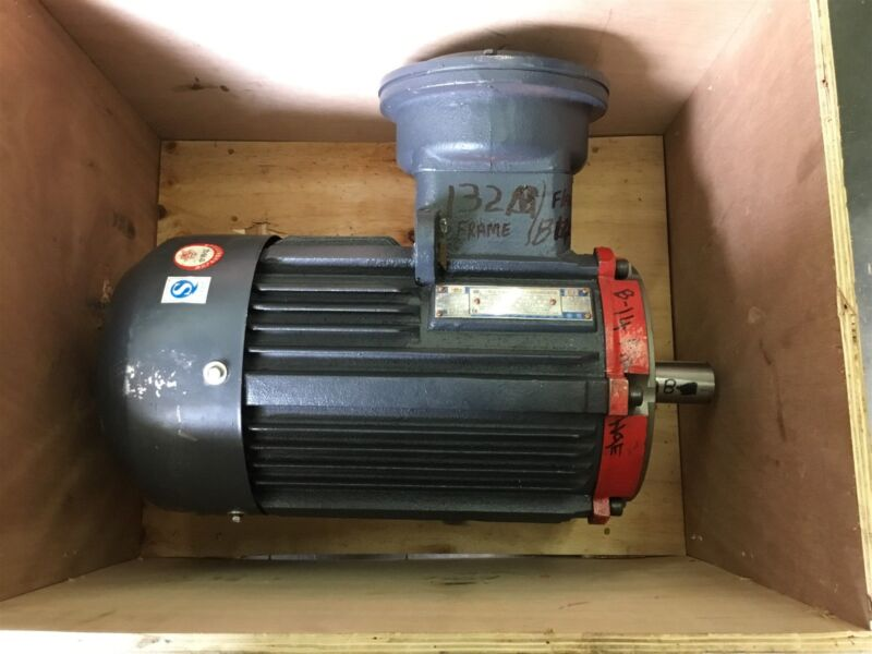 3 Phase Permanent Magnet Sychronous Ac Motor 1.875-7.5 Kw, 115-460 Volts 132M Fr