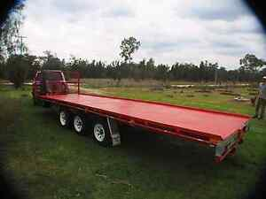 Flatbed Trailer Texas Inverell Area Preview