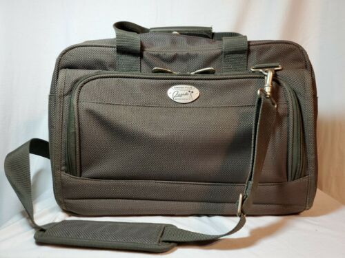 Gray Travel Bag, Carry On Overnight, Shoulder Bag By Ricardo Of Beverly Hills - $11.98