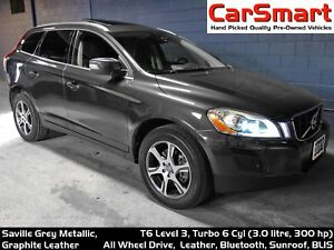2011 Volvo XC60 T6 Level 3, Leather, Bluetooth, Park-Assist