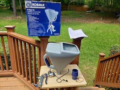 Kobalt Air Hopper Gun Gravity Drywall Hopper Spray Texture Gun 267315