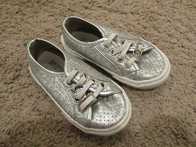 Michael Kors silver  Slip-ons Toddler Size 7](Toddler Slip Ons)