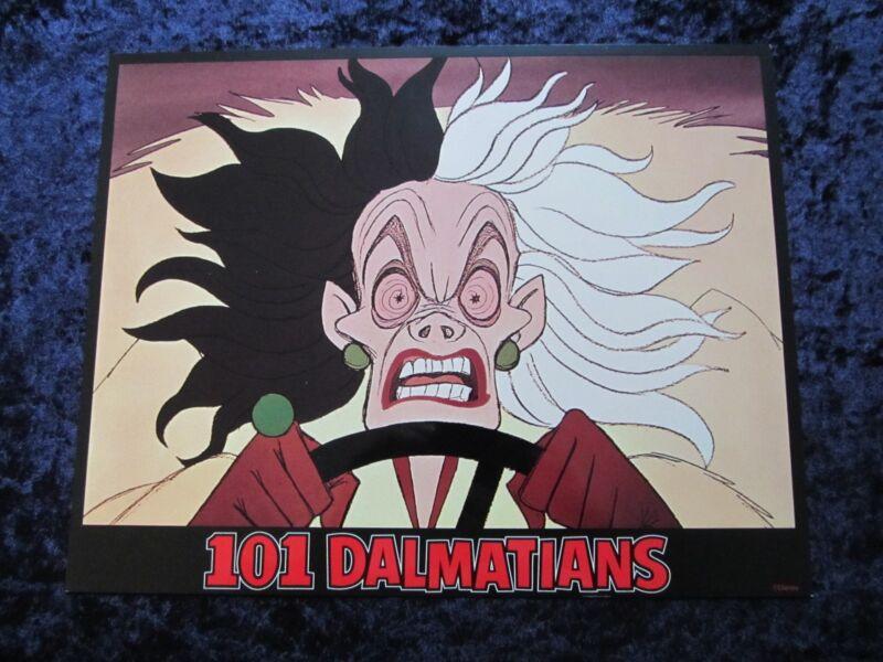 101 DALMATIANS lobby card # 1 - WALT DISNEY, DALMATIAN DOG