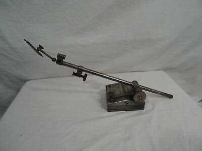 Vintage Starrett Dial Indicator Holder Base 3.5 Ideal Tool Test Indicator