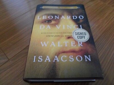 Walter Isaacson Signed   Leonardo Da Vinci   Limited First Hardcover Edition New