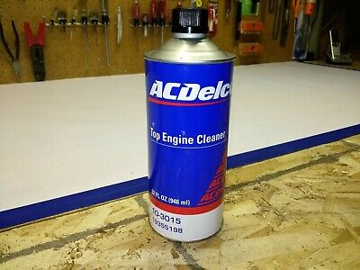 AC Delco #10-3015 32 oz. can Top Engine Cleaner unopened liquid prof. use only