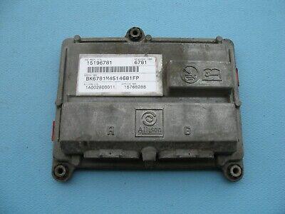 2005 05 CHEVROLET SILVERADO GMC SIERRA DURAMAX 6.6 AUTOMATIC TRANSMISSION MODULE
