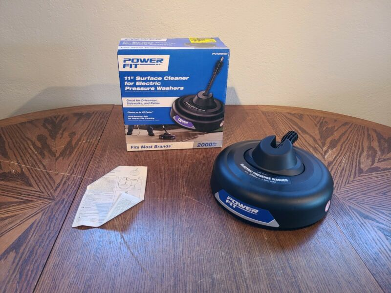 """Power Fit PF31099VNM 11"""" Surface Cleaner for Electric Pressure Washers"""