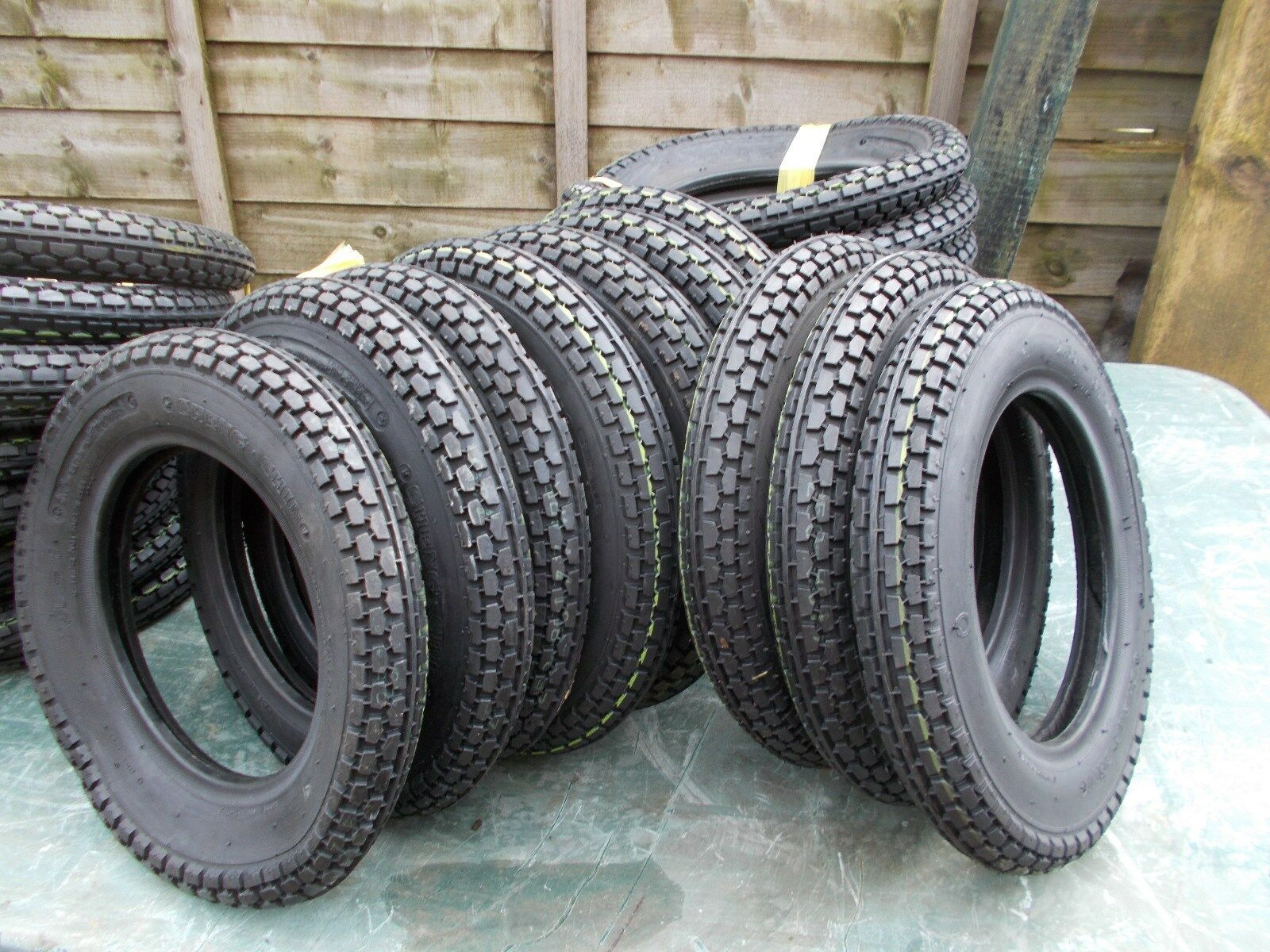 one welbike / brockhouse corgi 250 x 8 tyre Cheng Shin back in stock  new