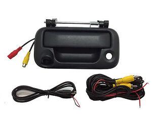 Ford Black Tailgate Backup Camera Handle F150 F250 F350  2005-2014  Color CCD