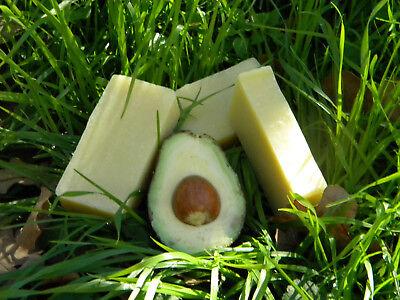 Natural Avocado Soap made w/ fresh avocado & avocado oil Avocado Oil Soap