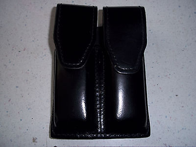 Gould Goodrich Leather Double Magazine Pouch--glock 17- Sig.- Sw--police