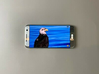 Samsung Galaxy S7 edge SM-G935S 32GB - Silver, Single sim, Condition : Shadow