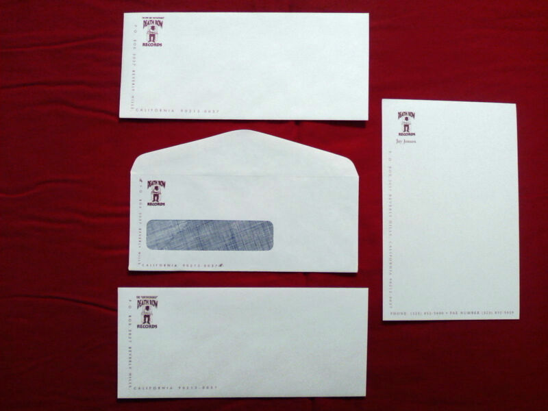 DEATH ROW RECORDS VINTAGE MAILERS RARE!!! SUGE KNIGHT TUPAC 2PAC SNOOP RAP PAC