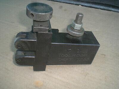 Genuine Aloris Ca-19 Quick Change Adjustable Knurling Holder