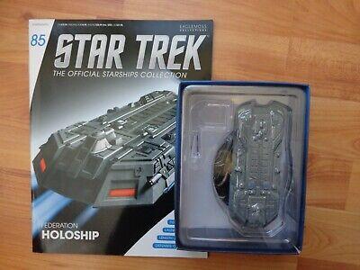 Star Trek Eaglemoss Naves Espaciales Colección 85 Federación Holoship Enviar comprar usado  Enviando para Brazil