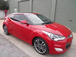 hyundai veloster 6 speed manual coupe 2015 only 94442kls Klemzig Port Adelaide Area Preview