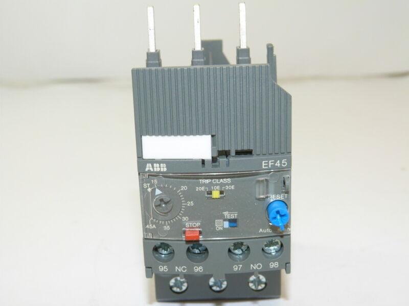 ABB EF45-45 Electronic Overload Relay 15-45A NEW 1yr Warranty