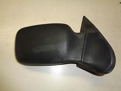 Außenspiegel rechts manuell Ford Courier Bj.96-99 Schwarz unlackiert