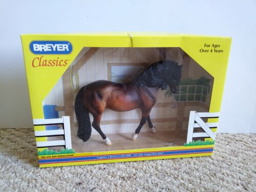 """BREYER Classics NO. 670 Bay Andalusian Mare 7"""" Collectible Toy Horse Figure NEW!"""