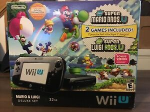 Wii u system with game