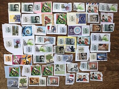 Collection Of Unfranked Cyprus Stamps On Paper