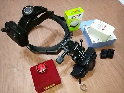 Indirect Binocular Led Ophthalmoscope 20 D Lens With Battery