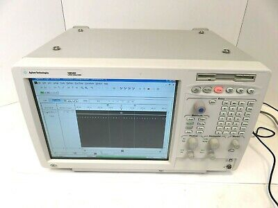 Agilent 1683ad Logic Analyzer 34 Channels La 2m Option Tested Good