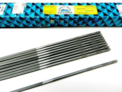 "Square Needle File Glardon Vallorbe Swiss 20cm / 7-7/8"" Cut # 00 LA2308 Grobet"