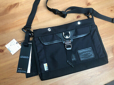 New Master-Piece Potential Sacoche Black Made In Japan Black