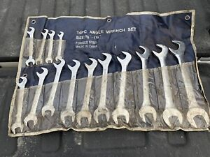 "Offset wrenches 3/8""-1 1/4"""