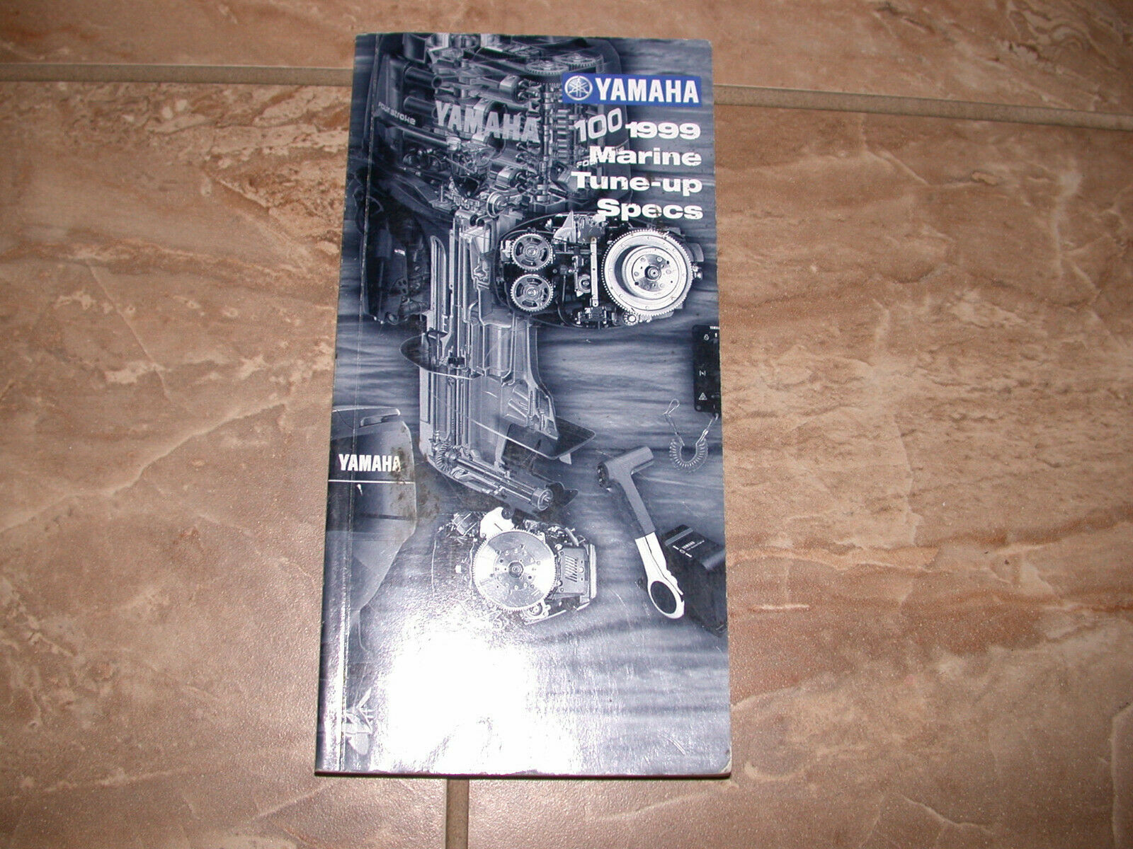 1984 to 1999 YAMAHA OUTBOARD TUNE-UP SPECS COVERS  2 TO 250 HP PLUS STERN DRIVE