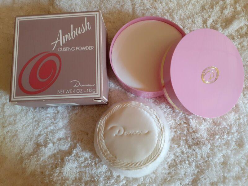 Ambush vintage Dusting Powder by Dana 4oz New in Box
