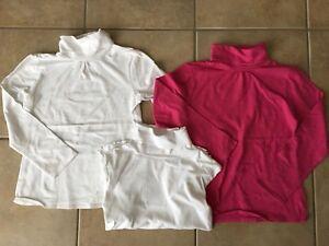 Girls size 7/8 turtlenecks