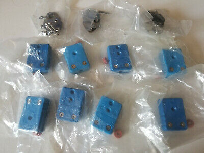 Lot Of 8 Thermocouple Type T Female Connectors