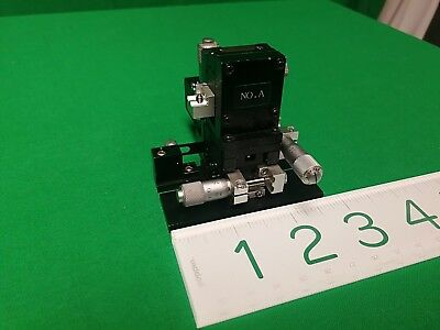 Sigma Koki 3 Axis Optical Micrometer Stage Xyrotional Newport