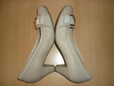 Gabor Best Fitting Damen Schuhe, Pumps, Gr. 5, Gr. 38, Echtleder, Top Zustand