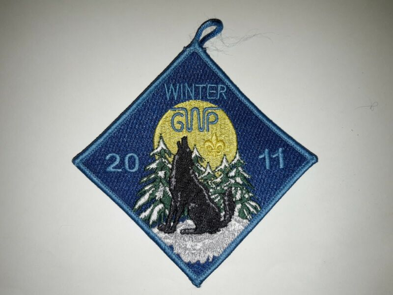 East Texas Area Council 2011 George W Pirtle Scout Reservation Winter Camp Patch