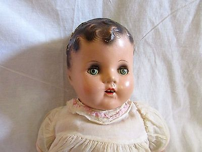 VINTAGE M & S COMPOSITION BABY DOLL