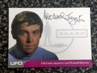 MICHAEL JAYSTON AS RUSSELL STONE MJ2 AUTOGRAPH CARD BLACK INK UFO SERIES 2
